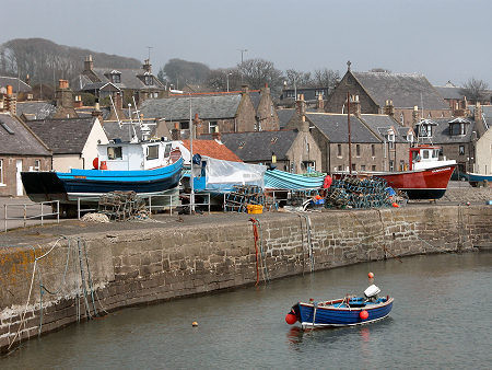 Johnshaven Fishing Village